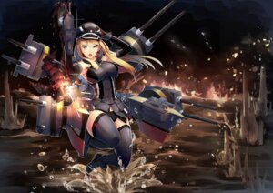 Rating: Safe Score: 49 Tags: bismarck_(kancolle) kantai_collection mecha pantsu scottie5785 thighhighs weapon User: mash