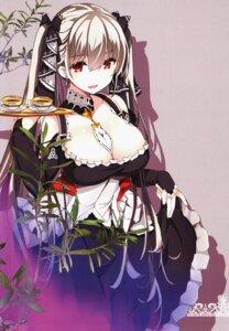 Rating: Questionable Score: 29 Tags: azur_lane cleavage formidable_(azur_lane) gothic_lolita kurokawa_izumi lolita_fashion maid odin skirt_lift User: zyll