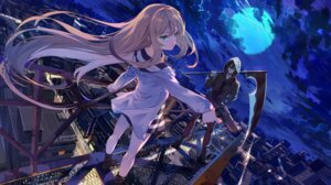 Rating: Safe Score: 32 Tags: baisi_shaonian gun isaac_foster rachel_gardner satsuriku_no_tenshi weapon User: Mr_GT