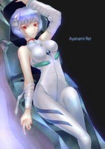 Rating: Safe Score: 24 Tags: ayanami_rei bandages bodysuit misaki_krokodi neon_genesis_evangelion User: charunetra