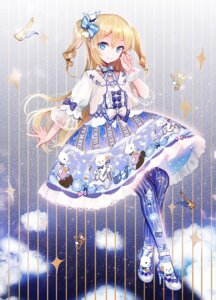 Rating: Safe Score: 55 Tags: dress heels lolita_fashion moemoe3345 see_through User: Mr_GT