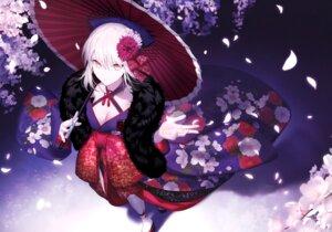 Rating: Safe Score: 41 Tags: cleavage fate/grand_order fate/stay_night japanese_clothes mashima_saki_(mashimasa) possible_duplicate saber saber_alter umbrella User: kiyoe