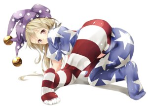 Rating: Questionable Score: 55 Tags: ass cameltoe clownpiece feet goril.l.la pantyhose touhou User: Radioactive