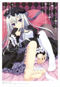 Rating: Safe Score: 105 Tags: chikotam k-books lolita_fashion pantsu shimapan thighhighs User: WtfCakes