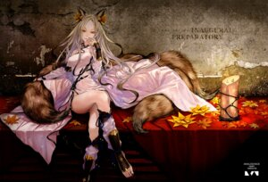 Rating: Safe Score: 66 Tags: animal_ears chinadress kitsune redjuice tail User: Mr_GT