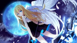 Rating: Safe Score: 38 Tags: bison dress rachel_gardner satsuriku_no_tenshi wallpaper wings User: Mr_GT