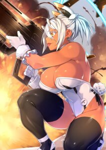 Rating: Safe Score: 37 Tags: cleavage gun no_bra nopan phantasy_star_online_2 real_xxiii thighhighs User: Mr_GT