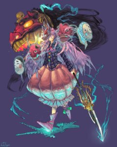 Rating: Safe Score: 14 Tags: hata_no_kokoro knifedragon touhou weapon User: Mr_GT