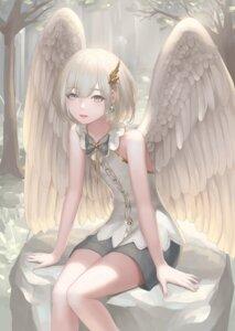 Rating: Safe Score: 25 Tags: angel rinmmo wings User: Dreista