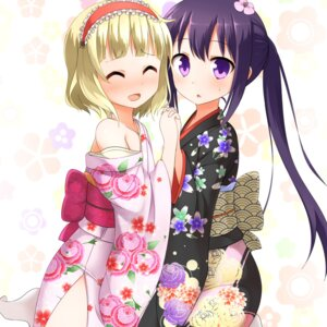 Rating: Questionable Score: 31 Tags: faubynet gochuumon_wa_usagi_desu_ka? kimono kirima_sharo open_shirt tedeza_rize wardrobe_malfunction User: charunetra