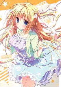 Rating: Safe Score: 95 Tags: dress hanasaki_work_spring kotobuki_hikari ryohka summer_dress User: donicila