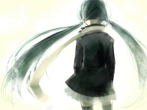Rating: Safe Score: 11 Tags: akuru hajimete_no_koi_ga_owaru_toki_(vocaloid) hatsune_miku thighhighs vocaloid wallpaper User: yumichi-sama