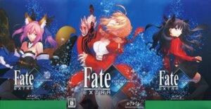 Rating: Safe Score: 22 Tags: animal_ears cleavage fate/extra fate/stay_night kitsune saber_extra takeuchi_takashi tamamo_no_mae toosaka_rin type-moon User: helloken