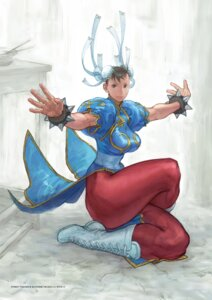 Rating: Safe Score: 5 Tags: chinadress chun_li digital_version nishimura_kinu pantyhose street_fighter_iii User: Radioactive