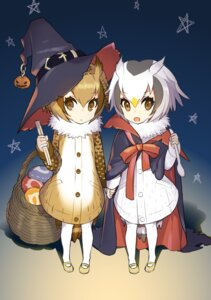 Rating: Safe Score: 26 Tags: eurasian_eagle_owl halloween kemono_friends northern_white-faced_owl omucchan_(omutyuan) witch User: Mr_GT