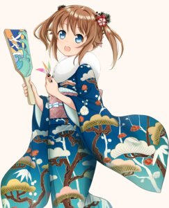 Rating: Safe Score: 27 Tags: abe_kanari high_school_fleet kimono misaki_akeno User: saemonnokami