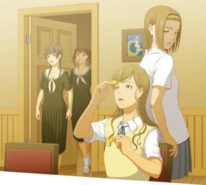 Rating: Safe Score: 4 Tags: cosplay fukuzawa_yumi joe k-on! maria-sama_ga_miteru seifuku shimazu_yoshino torii_eriko toudou_shimako User: Radioactive