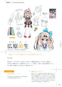 Rating: Safe Score: 16 Tags: character_design cleavage dress hirohara_mei lass liber_7 seifuku sketch thighhighs youta User: Hatsukoi