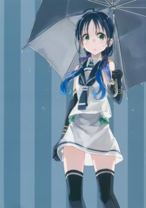 Rating: Safe Score: 17 Tags: kantai_collection seifuku suzukaze_(kancolle) tagme thighhighs umbrella User: kiyoe