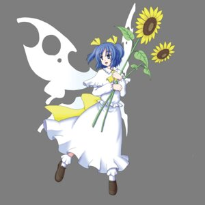 Rating: Safe Score: 5 Tags: gomi sunflower_fairy touhou transparent_png wings User: charunetra