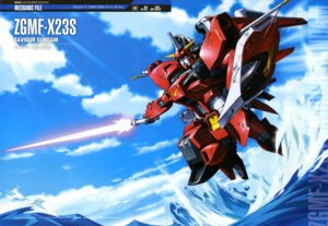 Rating: Safe Score: 15 Tags: gundam gundam_seed gundam_seed_destiny mecha sword ueda_youichi weapon User: drop