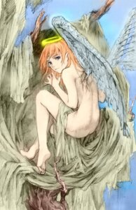 Rating: Questionable Score: 7 Tags: abe_yoshitoshi angel naked wings User: Radioactive