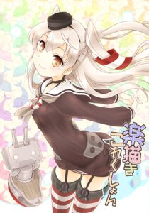 Rating: Safe Score: 29 Tags: amatsukaze_(kancolle) fujieda_miyabi kantai_collection stockings thighhighs User: fairyren