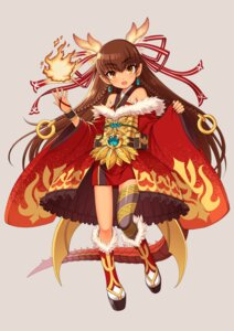 Rating: Safe Score: 17 Tags: asian_clothes horns nokikaeru tail thighhighs User: blooregardo