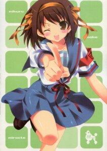 Rating: Safe Score: 8 Tags: liz satomi_hinako seifuku suzumiya_haruhi suzumiya_haruhi_no_yuuutsu User: Radioactive