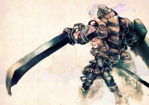 Rating: Safe Score: 20 Tags: armor megane monster so-bin sword User: hobbito
