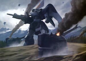 Rating: Safe Score: 6 Tags: gun gundam gundam_seed landscape mecha User: drop