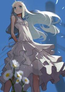 Rating: Safe Score: 17 Tags: 55level ano_hi_mita_hana_no_namae_wo_bokutachi_wa_mada_shiranai dress honma_meiko see_through summer_dress User: Mr_GT