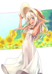 Rating: Safe Score: 62 Tags: baffu dress kantai_collection ro-500 summer_dress User: Mr_GT
