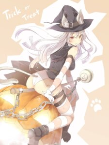 Rating: Questionable Score: 46 Tags: animal_ears ass dress garter halloween pantsu satomi see_through tail thighhighs witch User: Mr_GT