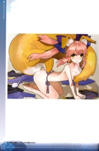 Rating: Questionable Score: 24 Tags: animal_ears binding_discoloration caster_(fate/extra) duplicate fate/extra fate/stay_night kitsune pantsu string_panties tail topless type-moon wada_rco User: Radioactive