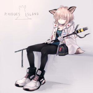 Rating: Safe Score: 7 Tags: animal_ears arknights hakua_mill pantyhose sussurro_(arknights) tail User: Dreista
