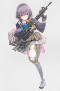 Rating: Safe Score: 63 Tags: fuyuno_haruaki gun seifuku User: SubaruSumeragi