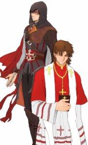 Rating: Safe Score: 7 Tags: assassin's_creed emiya_kiritsugu fate/stay_night kotomine_kirei male User: Yokaiou