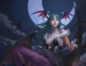 Rating: Safe Score: 55 Tags: cleavage dark_stalkers leotard morrigan_aensland or_seven pantyhose wings User: Mr_GT