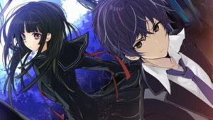 Rating: Safe Score: 41 Tags: black_bullet endcard manyako satomi_rentarou tendou_kisara User: yovvi18