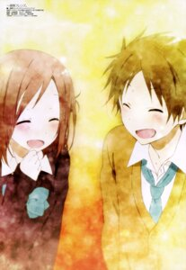 Rating: Safe Score: 36 Tags: fujimiya_kaori hase_yuuki isshuukan_friends seifuku yamazaki_eri_(artist) User: drop