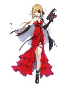 Rating: Safe Score: 24 Tags: cleavage dress eyepatch garter girls_frontline gun skorpion_(girls_frontline) tagme User: saemonnokami