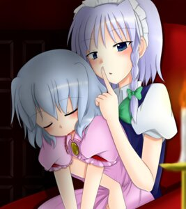 Rating: Safe Score: 6 Tags: aotori izayoi_sakuya remilia_scarlet touhou User: Radioactive