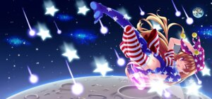 Rating: Safe Score: 20 Tags: clownpiece dress pantyhose skywaker touhou wings User: fairyren