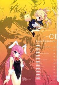 Rating: Safe Score: 7 Tags: amane_sou bunny_girl elle_prier hime_x_hime kadoma_konomi kujouin_saki seifuku User: Ravenblitz