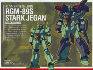 Rating: Safe Score: 7 Tags: gundam gundam_unicorn jegan_type_d katoki_hajime mecha screening stark_jegan wallpaper User: LHM-999