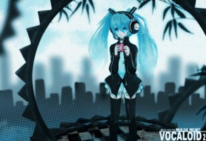 Rating: Safe Score: 8 Tags: auer hatsune_miku thighhighs vocaloid User: Radioactive