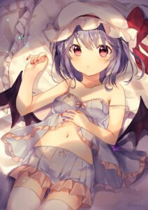 Rating: Safe Score: 74 Tags: cleavage lingerie neno_(nenorium) remilia_scarlet see_through thighhighs touhou wings User: Mr_GT