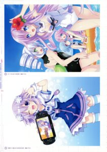 Rating: Questionable Score: 13 Tags: black_sister choujigen_game_neptune choujigen_game_neptune_mk2 kami_jigen_idol_neptune_pp neptune purple_sister tsunako white_sister_ram white_sister_rom User: Radioactive