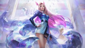Rating: Questionable Score: 27 Tags: ahri animal_ears garter kitsune league_of_legends raikoart tagme tail User: sam887